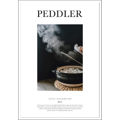 Peddler Journal Issue Three : Rice by Hetty McKinnon
