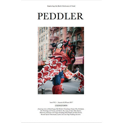Peddler Journal Issue One By Hetty McKinnon