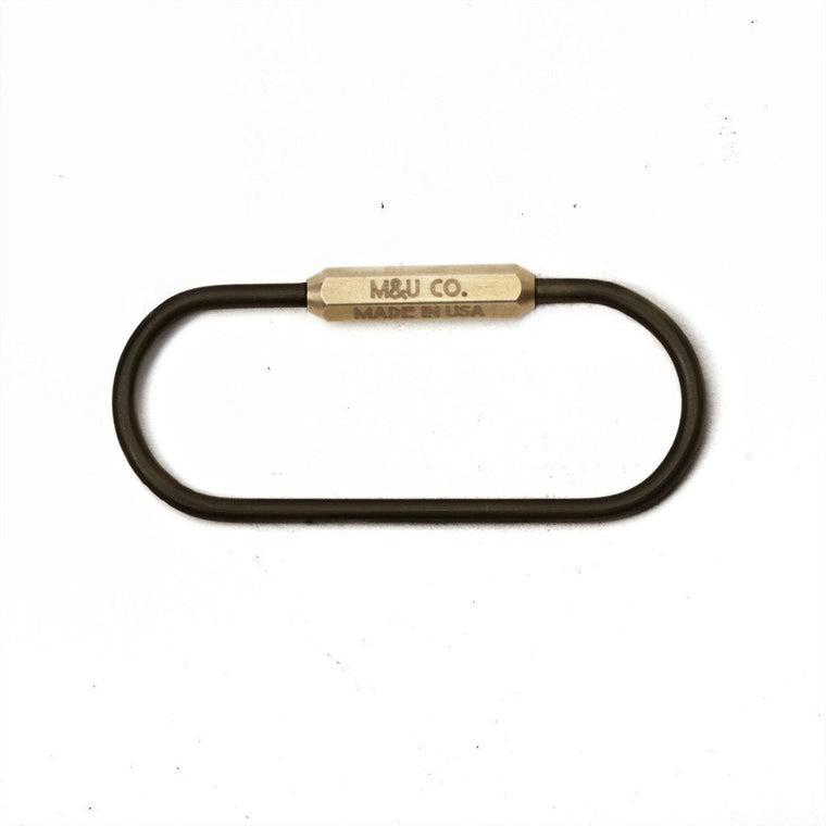 Maxx & Unicorn Co. - Black Oxide 'Pill' Keyring