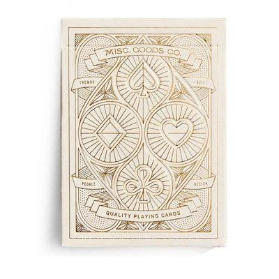 Ivory Deck Of Playing Cards - Misc. Goods Co.