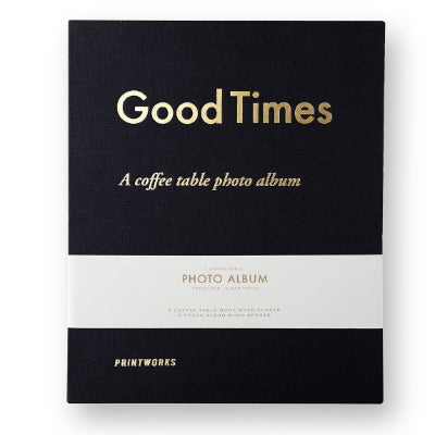 Printworks - Good Times : A Coffee Table Photo Album