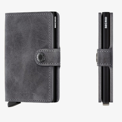 Secrid Miniwallet - Vintage Grey-Black