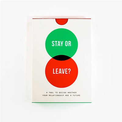 The School Of Life - Stay Or Leave?