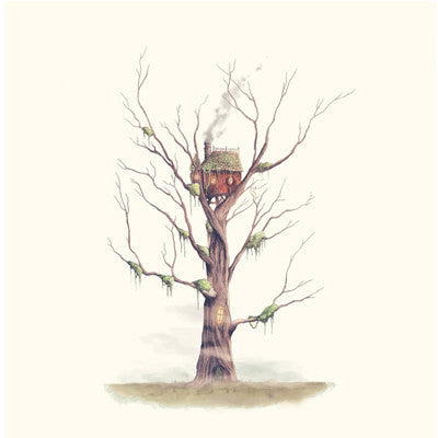 Print - Swamp Witch's Treehouse