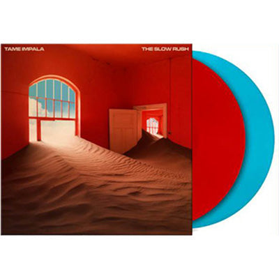 Tame Impala - The Slow Rush (Limited Edition Red/Blue Vinyl)