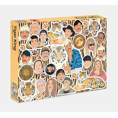 Tiger King: 500 Piece Jigsaw Puzzle