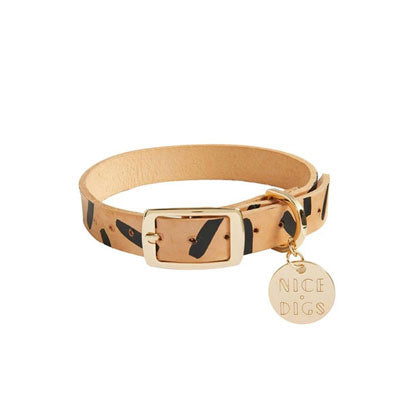 Nice Digs Dog Collar - Tiggy Black