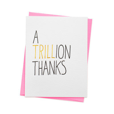 Ashkahn Card - Trillion Thanks