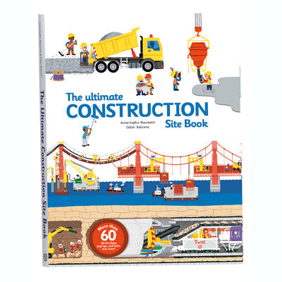 Ultimate Construction Site Book: From Around the World