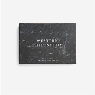 The School Of Life Card Set - Western Philosophy