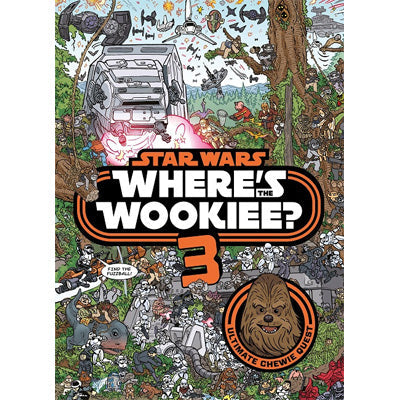 Star Wars Where's the Wookiee? 3 (Hardback)