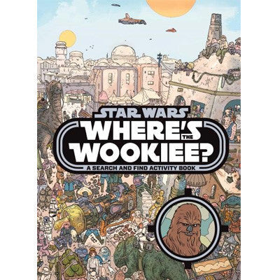 Star Wars Where's the Wookiee? (Hardback)