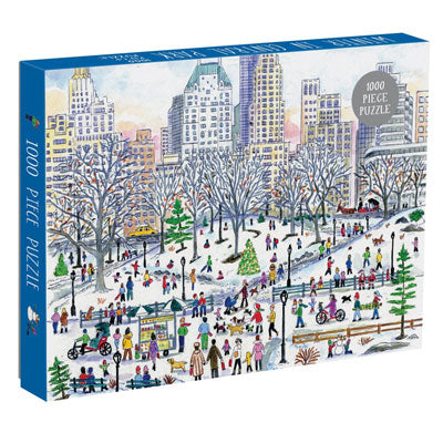 Winter in Central Park 1000 Piece Puzzle