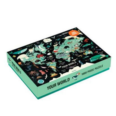 Mudpuppy: 1000 Piece Puzzle - Your World