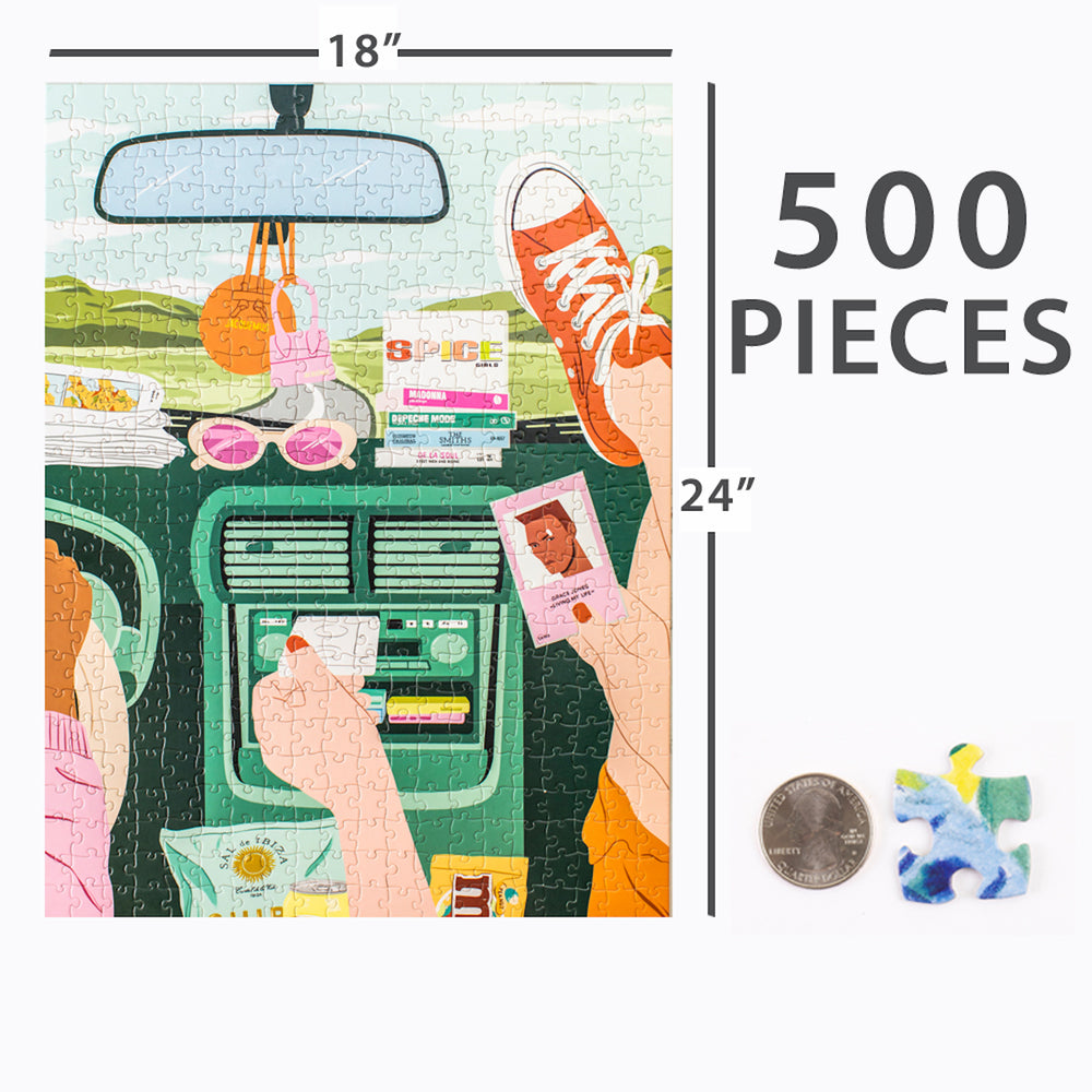 Roadtrip Puzzle