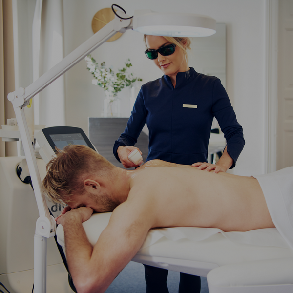 Laser Hair Removal for Men Using IPL