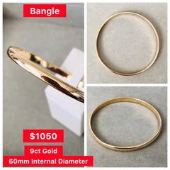 Gold Bangle Delross Jewellers