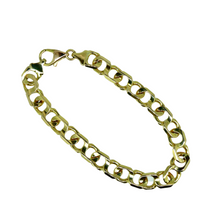 Load image into Gallery viewer, Italian Solid 14ct Gold Bracelet 18.5cm