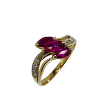 Load image into Gallery viewer, 14ct Ruby & Diamond Ring 3