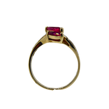 Load image into Gallery viewer, 14ct Ruby & Diamond Ring 5