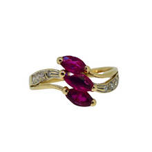 Load image into Gallery viewer, 14ct Ruby & Diamond Ring 1