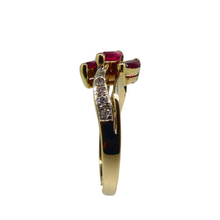 Load image into Gallery viewer, 14ct Ruby & Diamond Ring 6