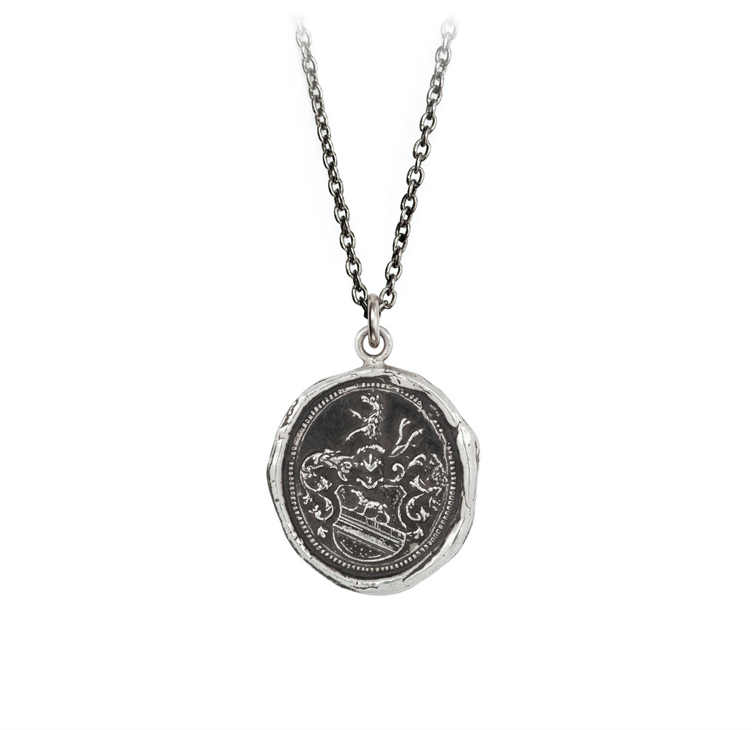Pyrrha Heart Of The Wolf Talisman Necklace