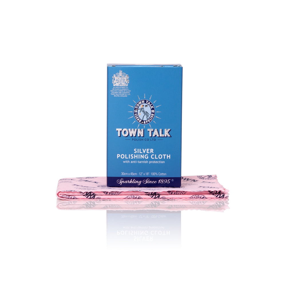 Town Talk Silver Polishing Cloth