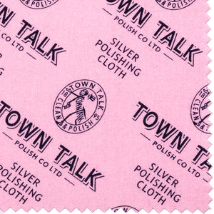 Town Talk Silver Polishing Cloth Unpacked