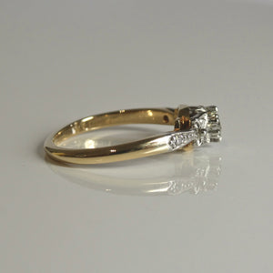18ct/Plat Antique Style Diamond Ring 0.17ct TW of Diamonds 3