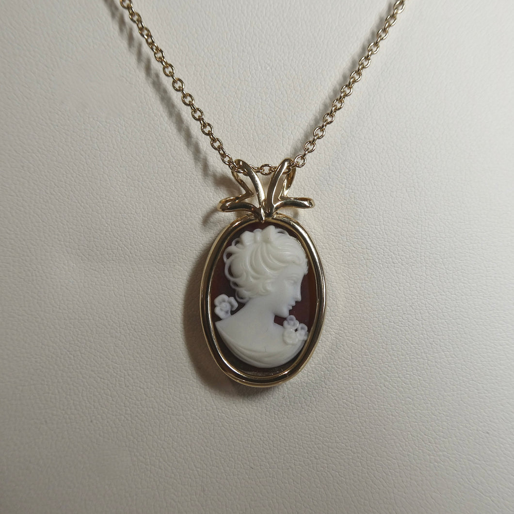 Cameo Style Pendant