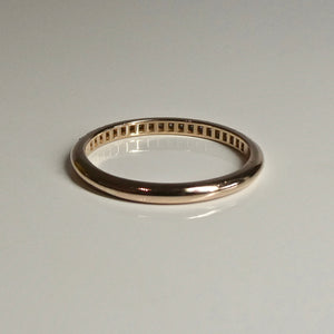 18ct Rose Gold Tiffany & Co Diamond Band 2
