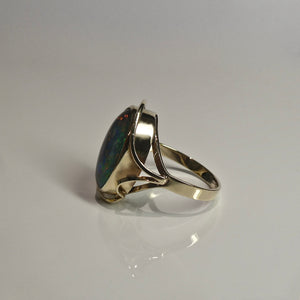 9ct Opal Doublet Ring 4