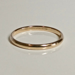 18ct Rose Gold Tiffany & Co Band 2