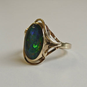 9ct Opal Doublet Ring 3