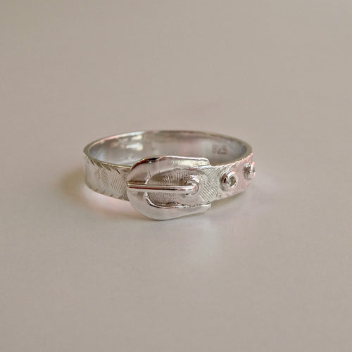Buckle Ring 925 Silver