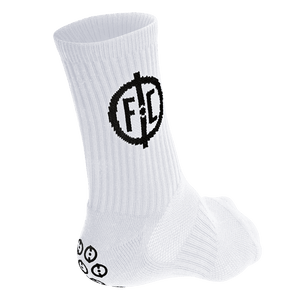 White GLU Socks