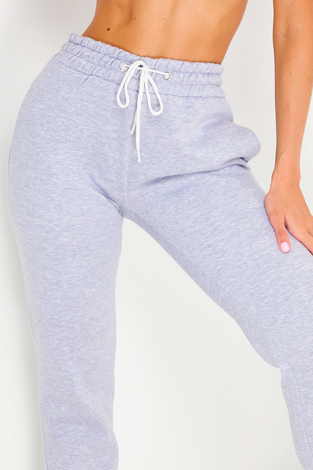 Grey Casual Joggers