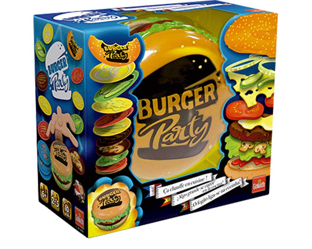 Burger Party (Fiesta de Hamburgesas)