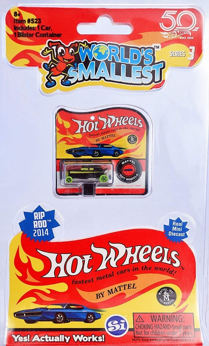World's Smallest Hot Wheels Rip Rod 2014