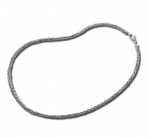 3mm Woven Chain Necklace