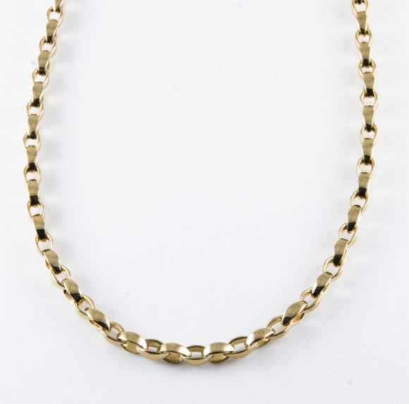 Vermeil Cable Necklace