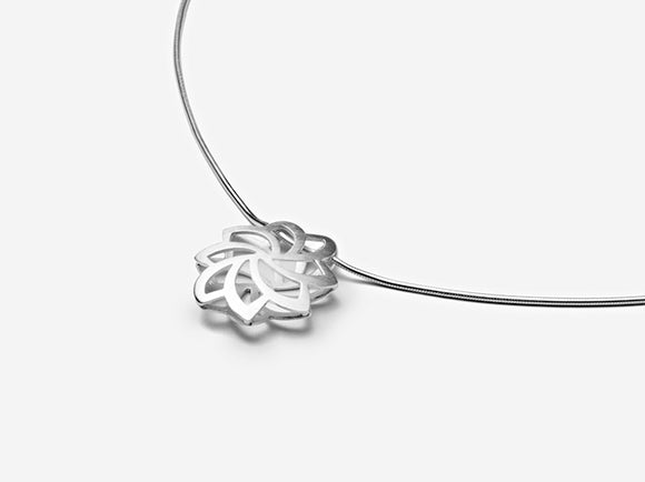 Lotus Full-Bloom Pendant