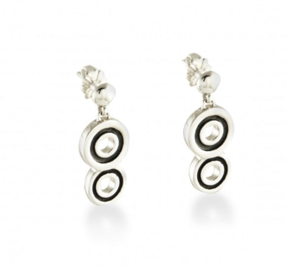 Mini Spiralz Drop Earring