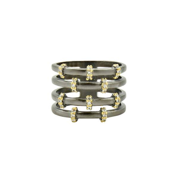 Imperial Pave Cage Ring