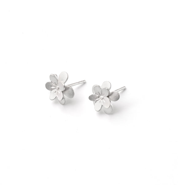Sakura 3D Post Sm Earrings