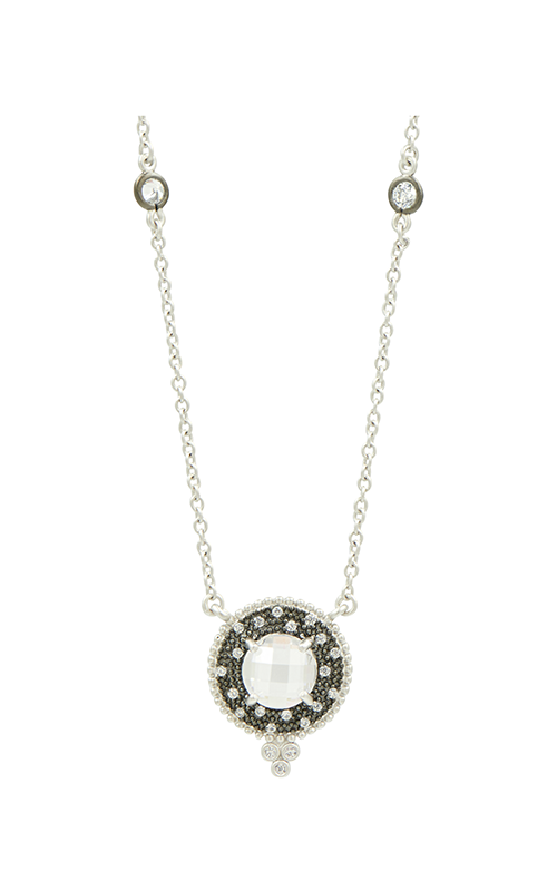 Signature Round Pendant Necklace