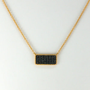 Pavé rectangle Pendant