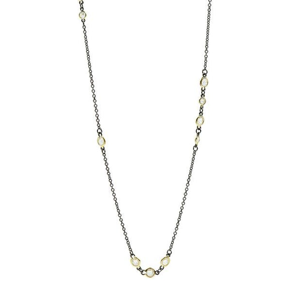 Signature Cluster Diamond by the Yard Necklace