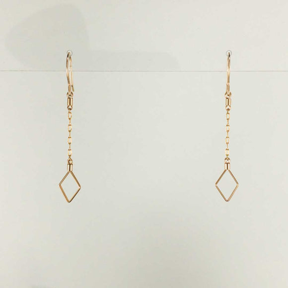 Comet Gold-filled Earrings